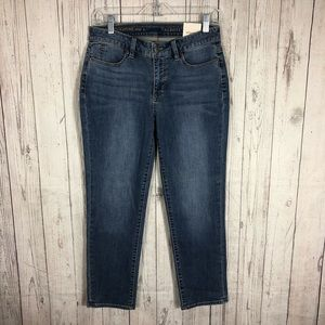 NEW Talbots Ankle Cropped Jeans